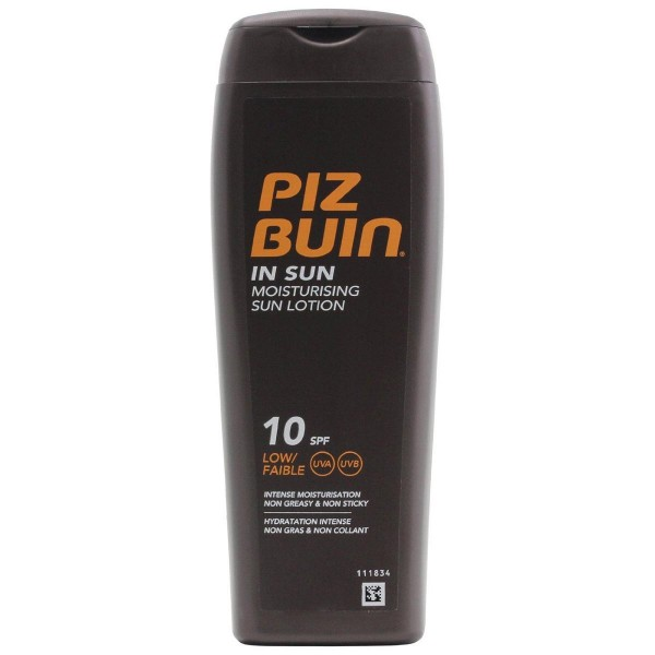 Piz buin in sun moisturising sun lotion spf10 200ml