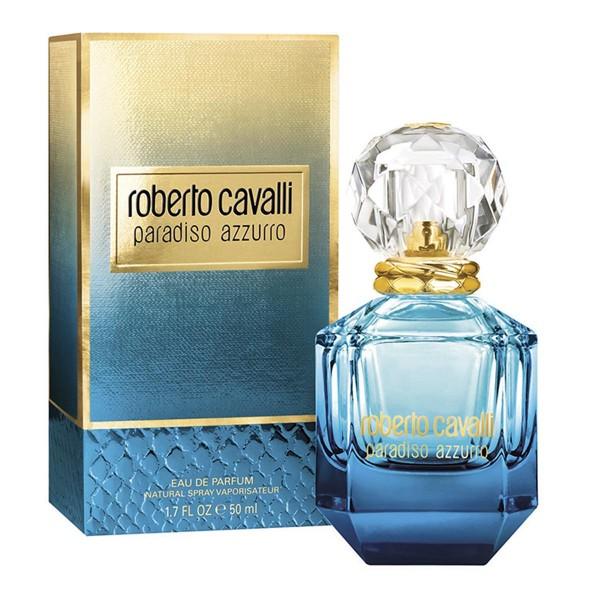 Roberto cavalli paradiso azzurro eau de parfum 50ml vaporizador