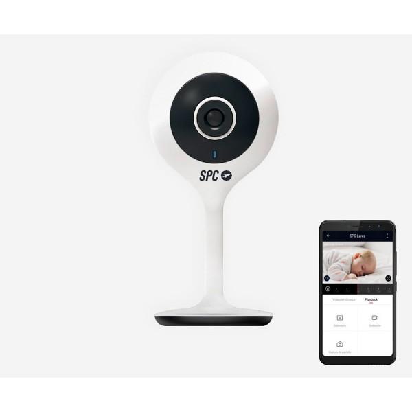 Spc 6302b lares cámara blanca con resolución hd visión nocturna detección de movimiento