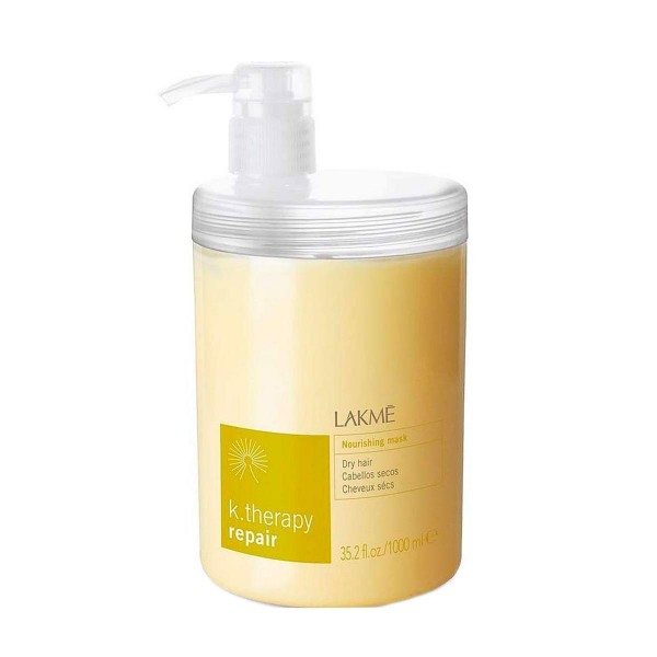 Lakme k.therapy repair mascarilla nutritiva cabello seco 1000ml