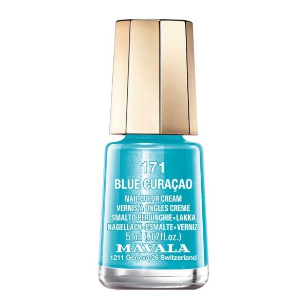 Mavala nail laca de uñas 171 blue curacao
