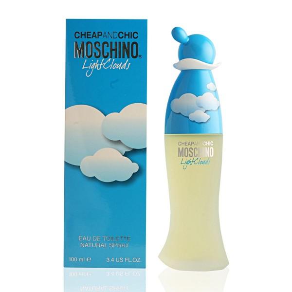 Moschino cheap & chic light clouds eau de toilette 100ml vaporizador