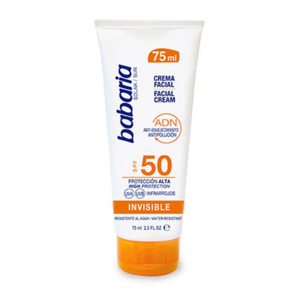 Babaria solar crema spf50 invisible 75ml