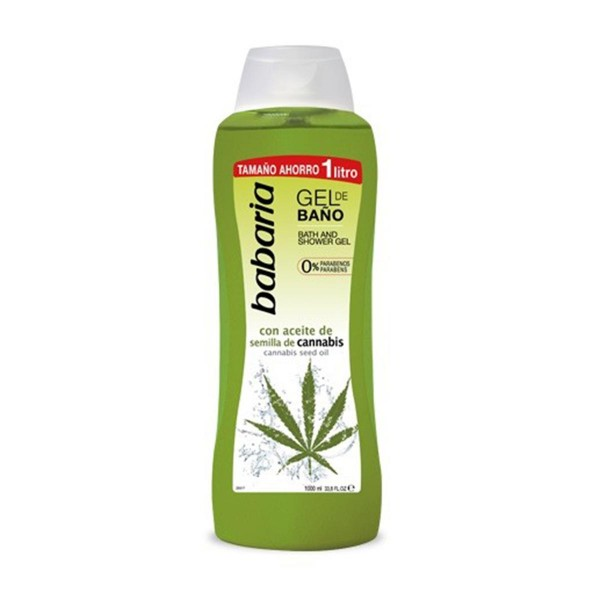 Babaria semilla de cannabis gel de baño 1000ml