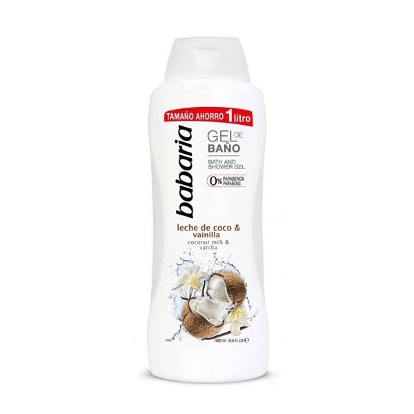 Babaria coco & vainilla gel de baño 1000ml