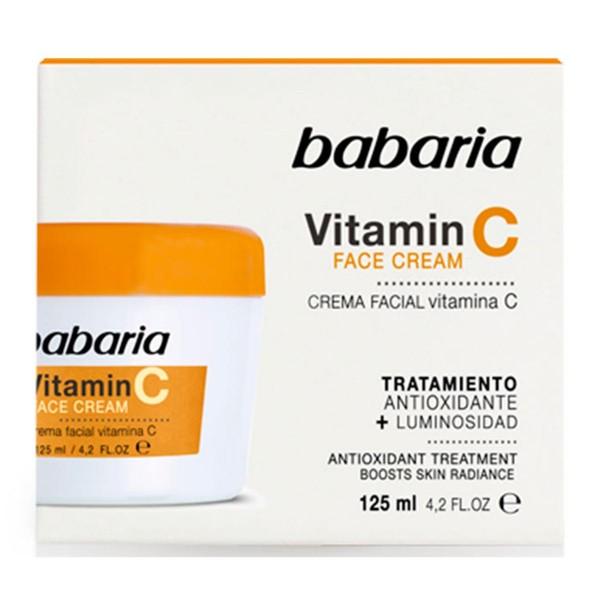 Babaria vitamin c crema facial 125ml