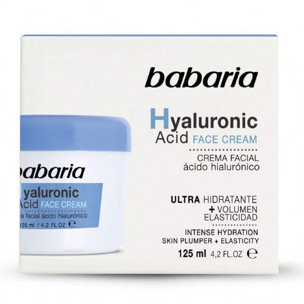 Babaria hyaluronic acid crema facial 125ml