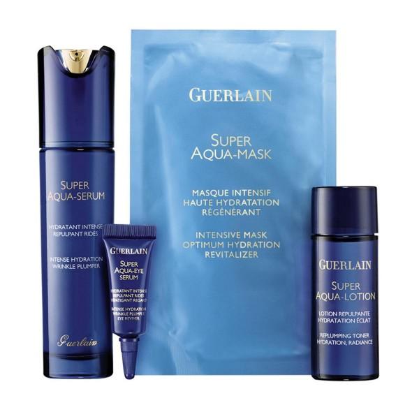 Guerlain super aqua serum 50ml + miniatura 5ml + mascarilla 1u + locion 40ml