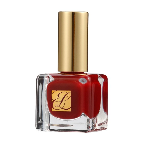 Estee lauder pure color nail lacquer 03 enchanted garnet