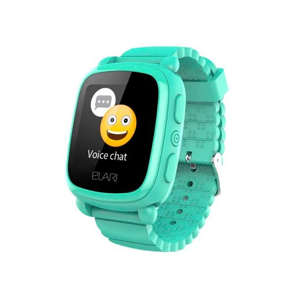 Elari kidphone 2 verde reloj inteligente smartwatch para niños con localización gps y botón sos exclusivo