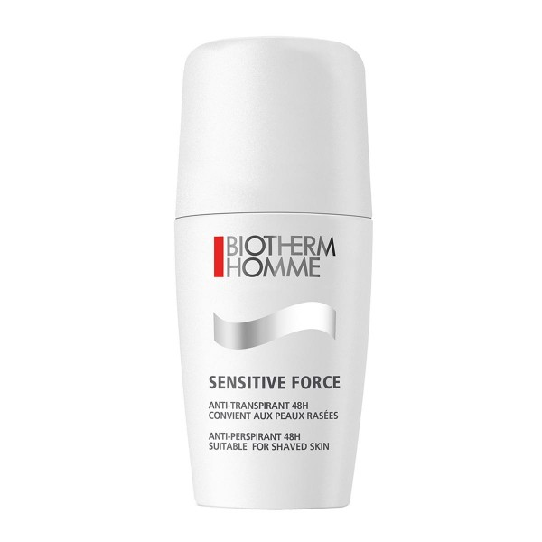 Biotherm homme sensitive force desodorante roll-on 75ml