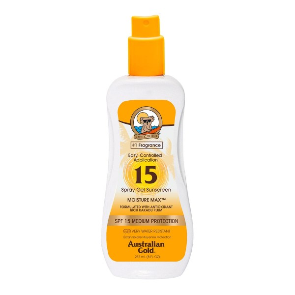 Australian gold cuerpo spray gel spf15 237ml vaporizador
