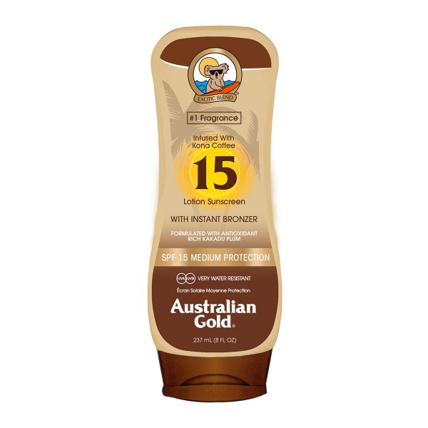Australian gold bronzer locion spf15 237ml