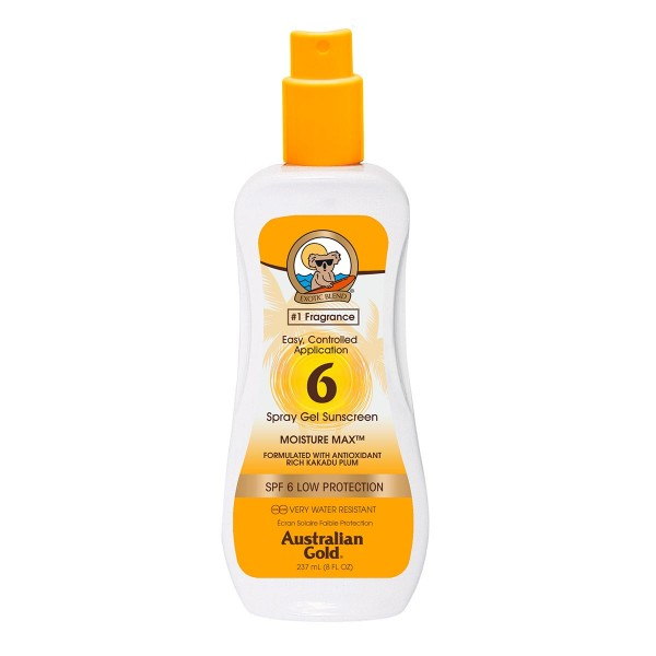 Australian gold cuerpo spray gel spf6 237ml vaporizador