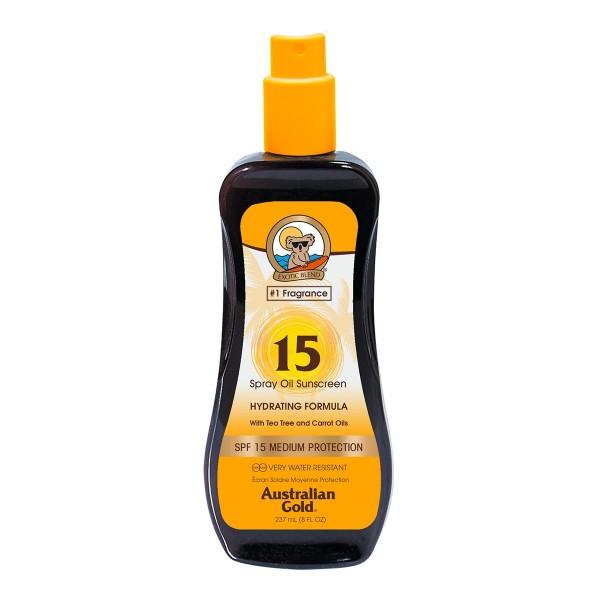 Australian gold zanahoria aceite spray spf15 237ml vaporizador