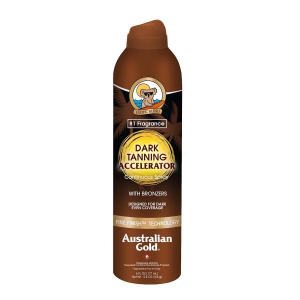 Australian gold accelerator spray bronzer 177ml vaporizador