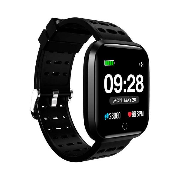 Innjoo negro sportwatch tft 1.33'' reloj inteligente deportivo bluetooth frecuencia cardíaca y presión sanguínea
