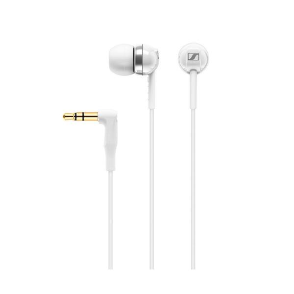 Sennheiser cx100 blancos auriculares intraurales dinámicos cable 1.2m  con 4 tamaños de almohadillas