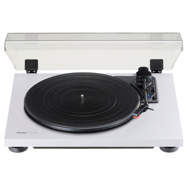 Teac tn-180bt blanco tocadiscos analógico de 3 velocidades con phono eq y bluetooth