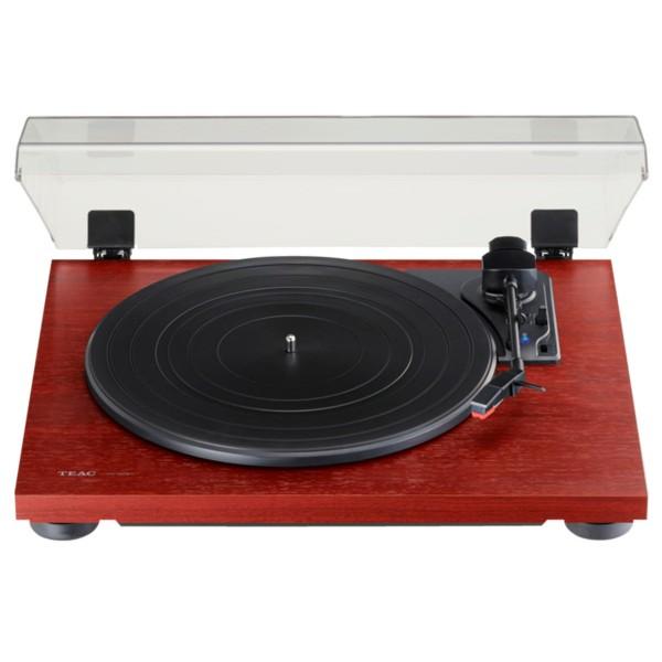 Teac tn-180bt madera tocadiscos analógico de 3 velocidades con phono eq y bluetooth