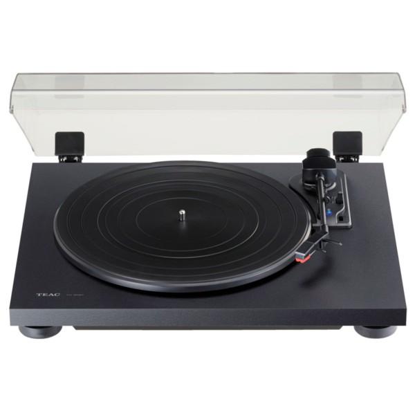 Teac tn-180bt negro tocadiscos analógico de 3 velocidades con phono eq y bluetooth