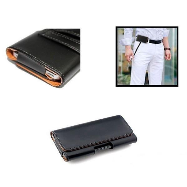 Jc carcasa negra talla xl de 5.5'' universal cinturón para móviles