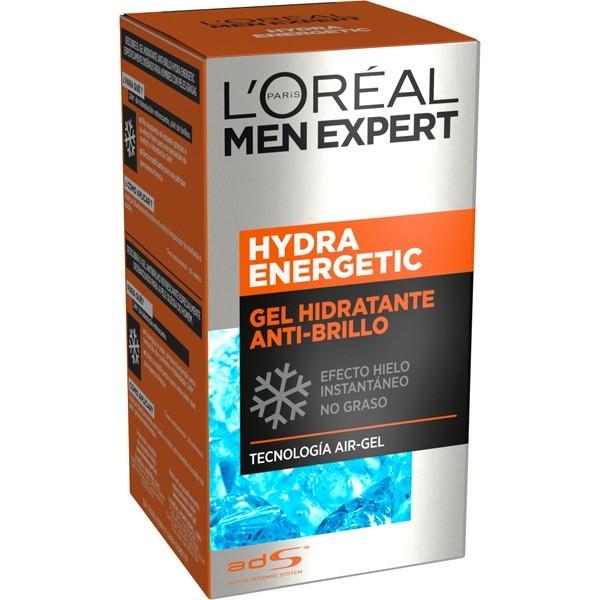L´Oreal Men  Expert  Hidra Energetic gel ultra hidratante sin brillos 50 ml