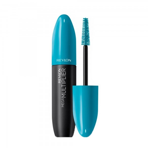 Revlon mega-multiplier mascara de pestañas 001 blackest black 10.97gr