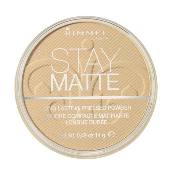 Rimmel stay matte long lasting polvos compactos 006