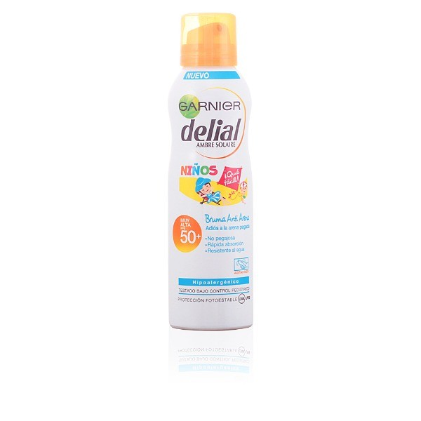 Delial Niños Sensitive Advanced  SPF50  Bruma anti-arena 200 ml