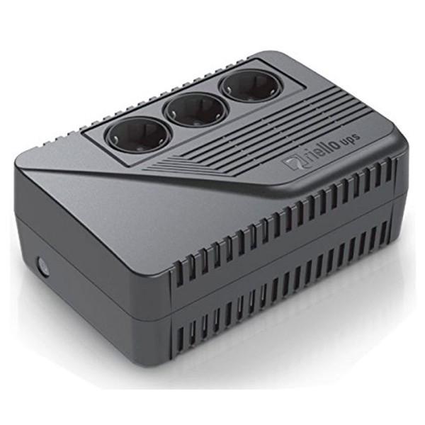 Riello iplug ipe600de se sai de protección compacto de sobretensiones 600va 360w