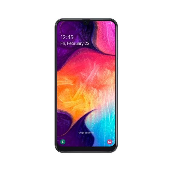 Samsung galaxy a50 negro móvil 4g dual sim 6.4'' super amoled fhd+/8core/128gb/4gb ram/25mp+5mp+8mp/25mp