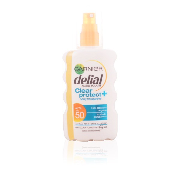 Delial  CLEAR PROTECT spray  trasparente  SPF 50 200 ml