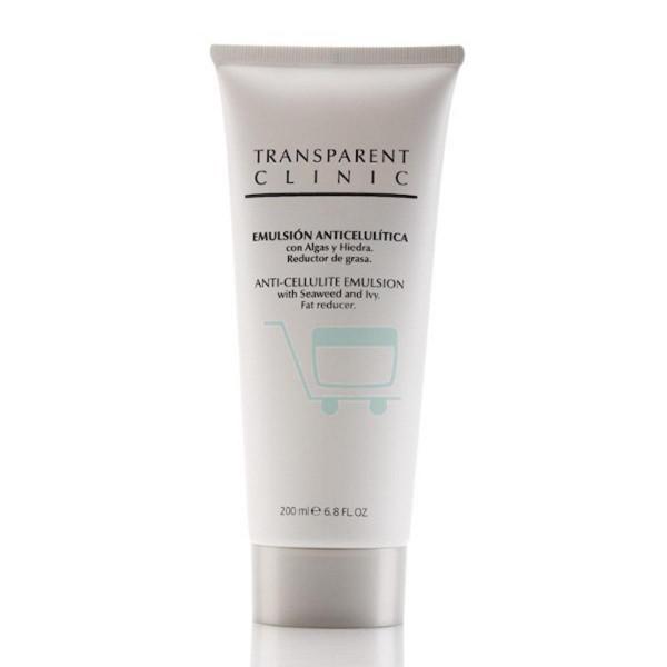 Transparent clinic cuerpo emulsion anti-celulitica 200ml