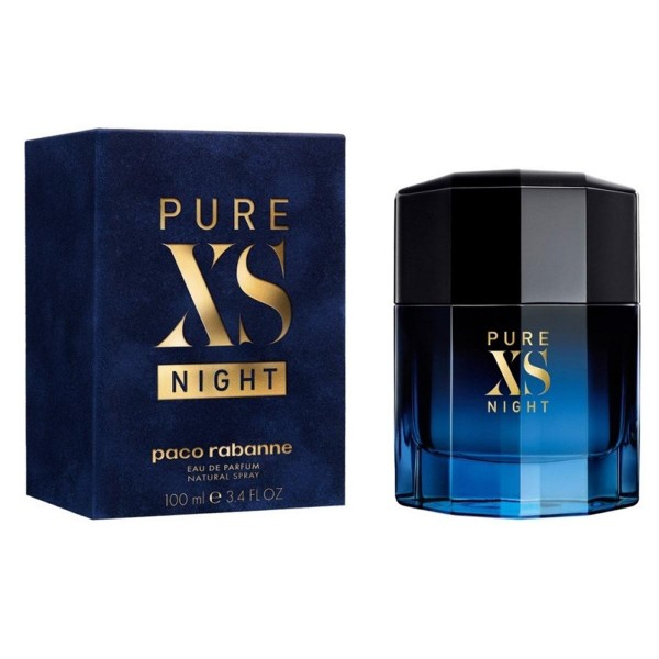 Paco rabanne xs pure night eau de parfum 100ml vaporizador