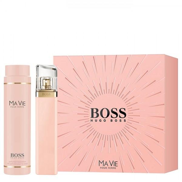 Hugo boss ma vie pour femme eau de parfum 75ml + perfumed body lotion 200ml