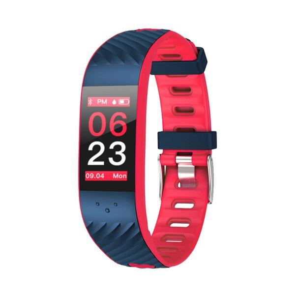 Brigmton bsport-16 roja pulsera de actividad con pantalla oled color táctil ip67 bluetooth