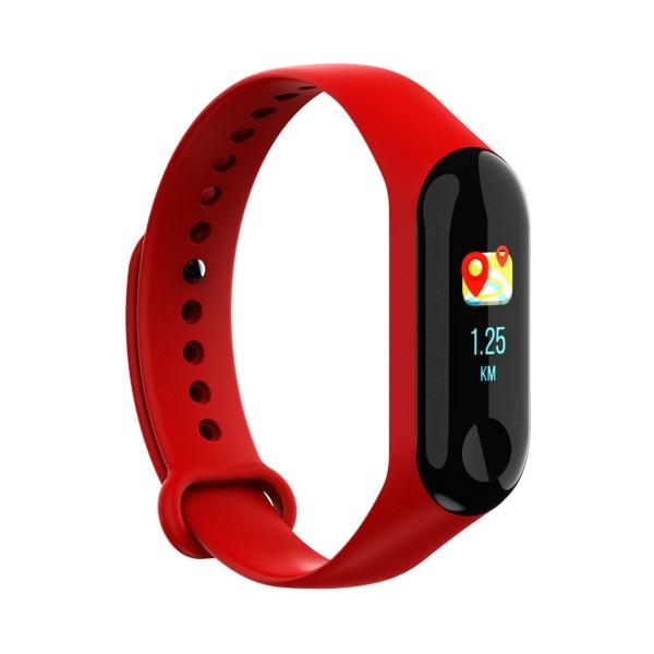 Brigmton bsport-b2 roja pulsera de actividad con pantalla ips color táctil ip67 bluetooth