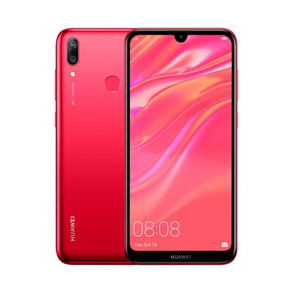 Huawei y7 2019 coral móvil 4g dual sim 6.26'' ips hd+/8core/32gb/3gb ram/13mp+2mp/8mp
