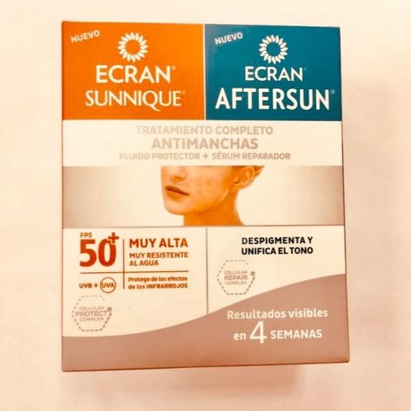 Ecran tratamiento Antimanchas SPF50  : protector + reparador 100 ml