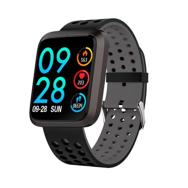 Brigmton bsport-18 negro reloj de actividad con pantalla 1.3'' color táctil ip67 bluetooth