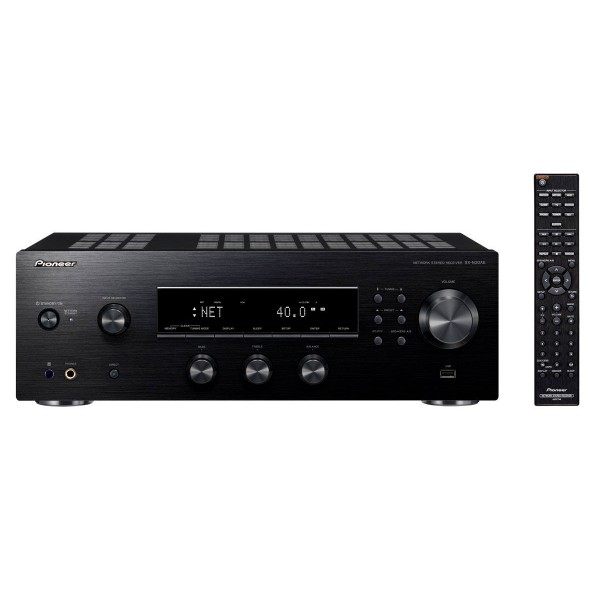 Pioneer sx-n30ae-b negro amplificador estereo integrado 2x110w wifi modo directo usb 192khz 24 bits