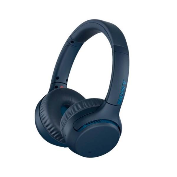 Sony wh-xb700 azul auriculares extra bass inalámbricos bluetooth nfc google assistant