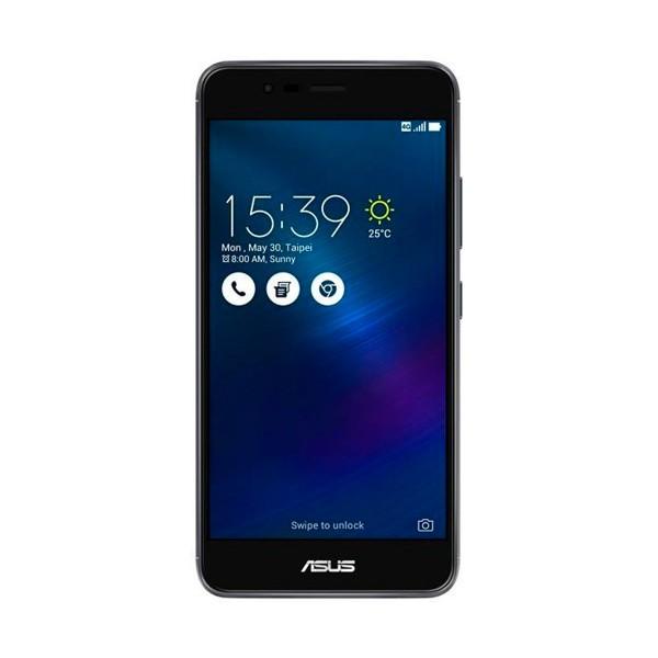 Asus zenfone 3 max gris titanio móvil 4g dual sim 5.2'' ips hd/4core/32gb/3gb/13mp/5mp