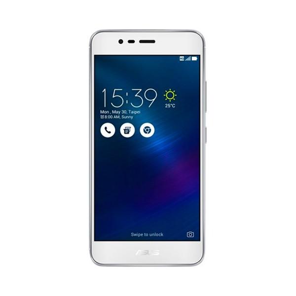 Asus zenfone 3 max plata glacial móvil 4g dual sim 5.2'' ips hd/4core/32gb/3gb/13mp/5mp con auriculares