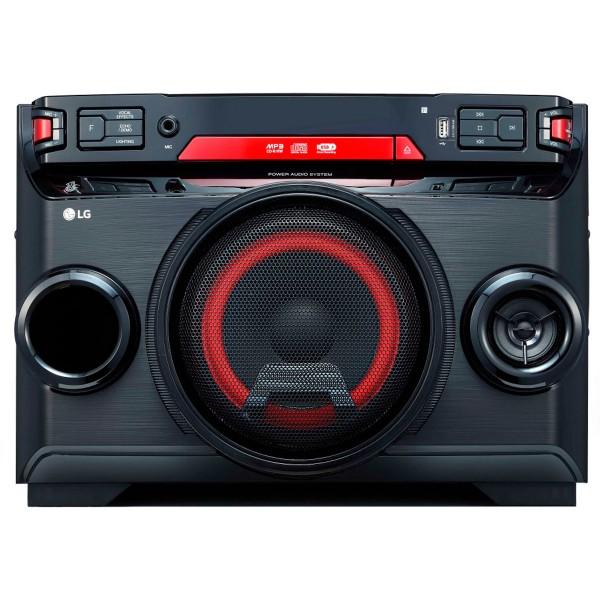 Lg xboom ok45 sistema de audio de alto voltaje 220w bluetooth usb funciones dj y karaoke star