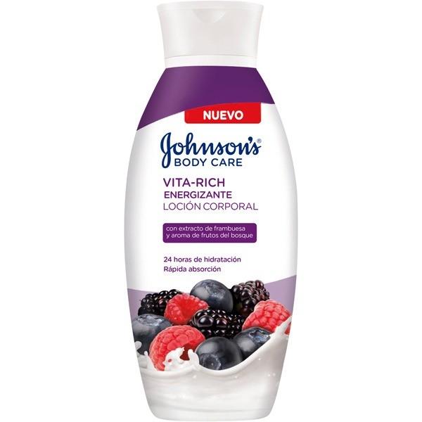 JOHNSONS loción body care Vita-Rich Frutos Rojos 400 ml