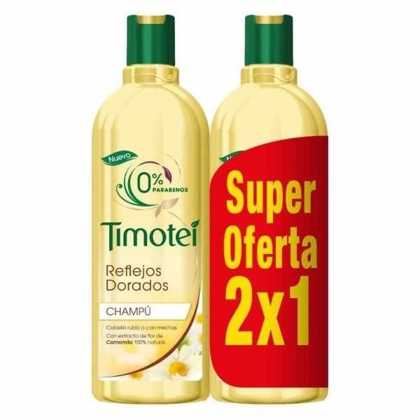 Timotei  2en1 champú Reflejos dorados formato 2x1