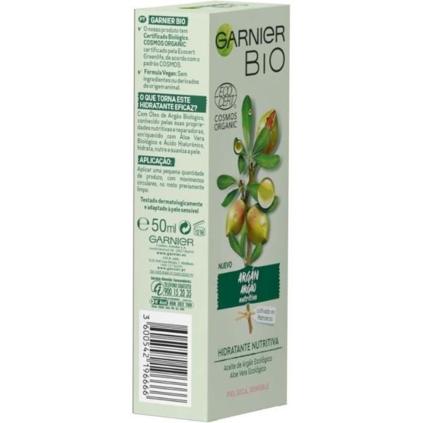 Garnier Bio crema hidratante Nutritiva 50 ml