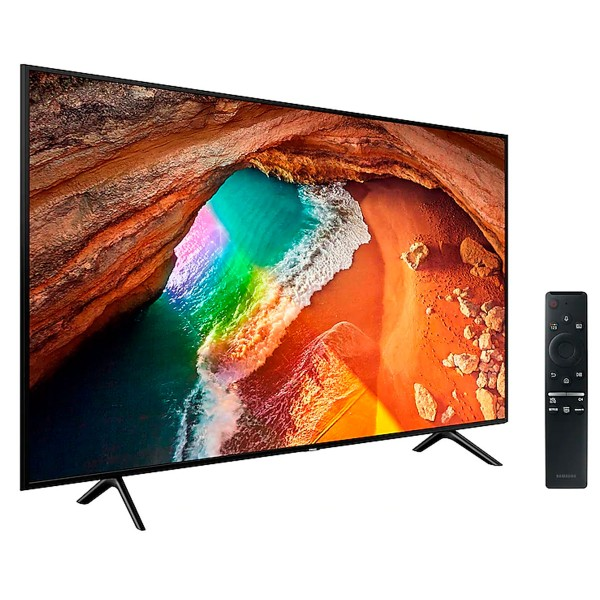 Samsung qe55q60ratxxc televisor 55'' qled 4k 2019 smart tv wifi bluetooth ambient mode